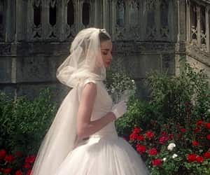 bride, alternative, and audrey hepburn image