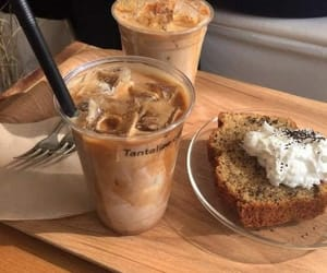 food, coffee, and beige image