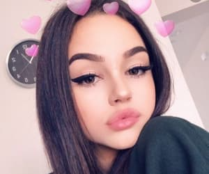 maggie lindemann, snapchat, and beauty image