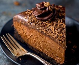 cheesecake, chocolate, and no-bake image