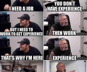 work, funny, and meme image