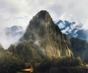 machu picchu, nature, and peru image