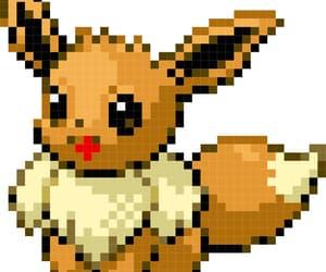art, brown, and pokemon image