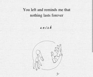break-up, forever, and quotes image
