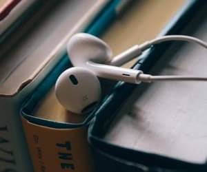 book, hobby, and music image