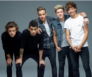 blue, liam payne, and one direction image