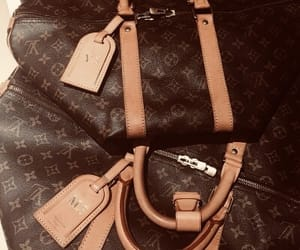 travel, Louis Vuitton, and luggage image