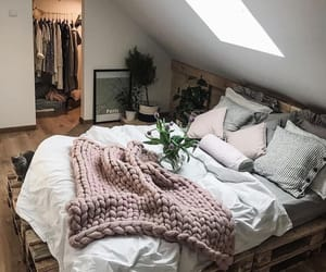 beautiful, blanket, and bedroom ideas image