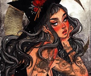 alternative, witch, and art image