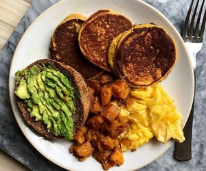 avocado, fitness, and yummy image