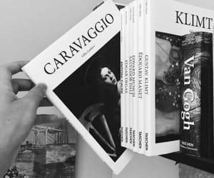 book, art, and caravaggio image