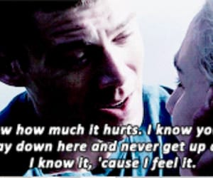 pain, subtitles, and words image