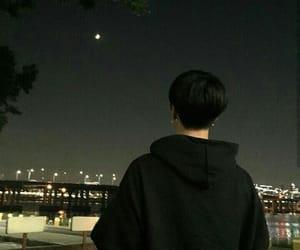 boy, night, and korean image