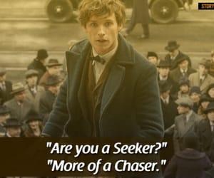 harry potter, quotes, and scamander image
