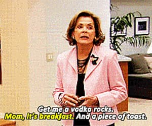 arrested development, lucille bluth, and gif image