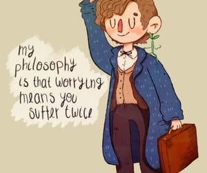 newt scamander, harry potter, and newt image