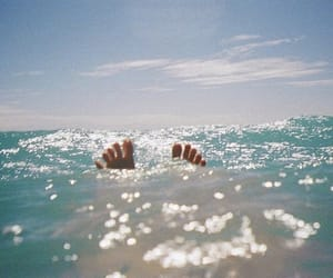 summer, sea, and feet image
