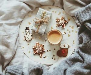 christmas, gift, and snow image