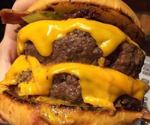 food, fast food, and hamburger image