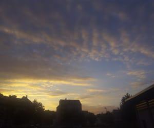 orange, sunset, and sky image