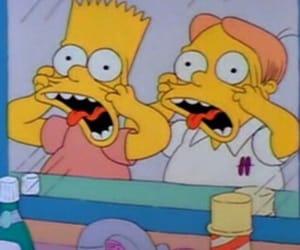 simpsons, cartoon, and the simpsons image
