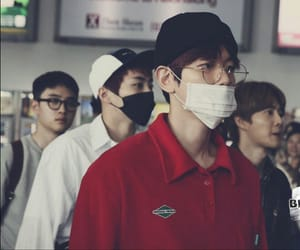 airport, exo, and kpop image