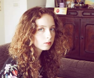 capture, curly hair, and girl image