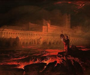 ancient, hell, and fire image