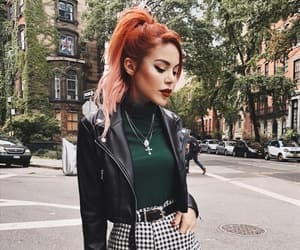 black, ny, and outfit image