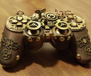 controller, gaming, and gears image