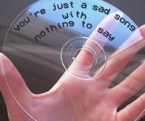 cd, aesthetic, and sad image