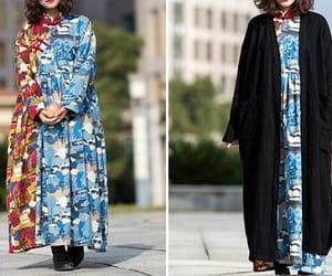 etsy, vintagedress, and maxi cotton dress image