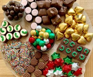 candy, chocolate, and christmas image