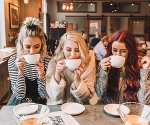 girl, goals, and coffee image