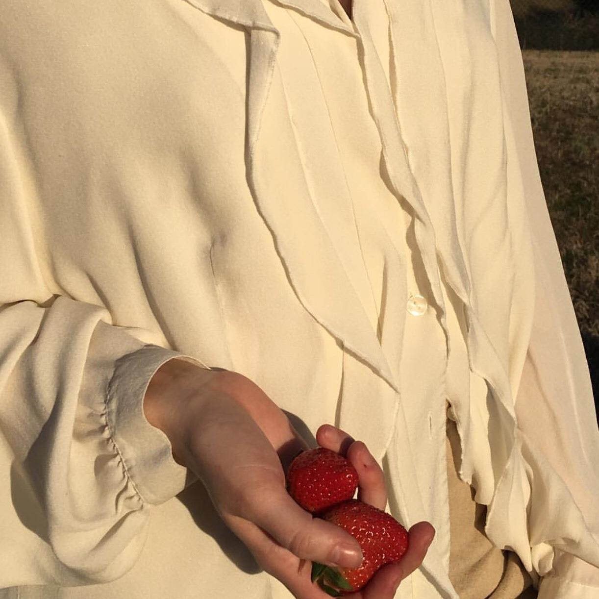 strawberry, aesthetic, and aesthetics image