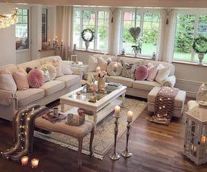 home, cozy, and decoration image