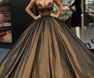 prom dresses long, ball gown prom dresses, and prom dresses 2018 image