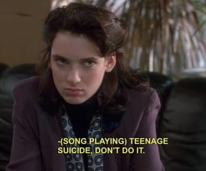 Heathers, winona ryder, and 80s image