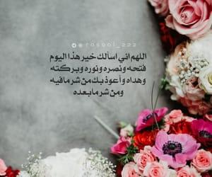 صباح الورد, الله, and يارب  image