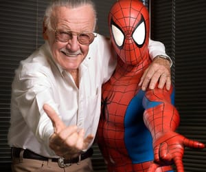 spiderman and stan lee image