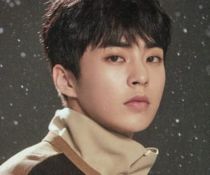 exo, xiumin, and universe image
