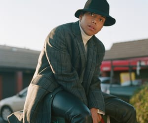black man, boy, and Hot image