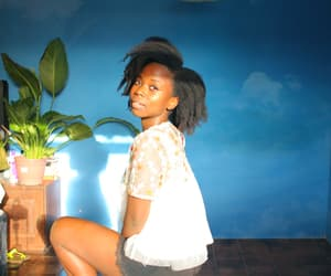 black women, brown skin, and dark skin image