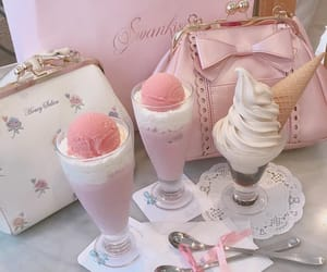 pink, aesthetic, and dessert image