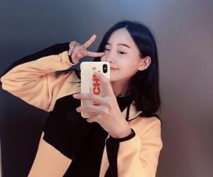 kang kyungwon, pristin, and yuha image