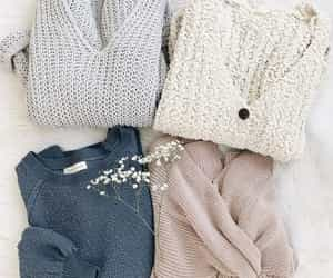 fashion, sweater, and cozy image