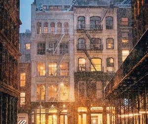 cozy, fire escape, and new york city image