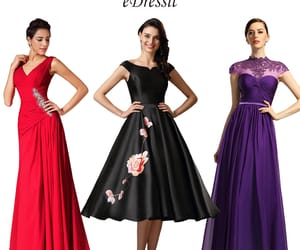 evening dress, party gowns, and formal wear image