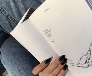 books, inspiring, and nails image