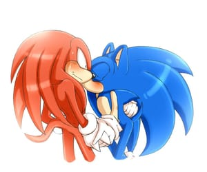 fanart, Sonic the hedgehog, and knuckles the echidna image